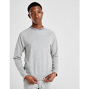 0e5a3b3acd0 Calvin Klein Jacquard Crew Sweatshirt Junior ...