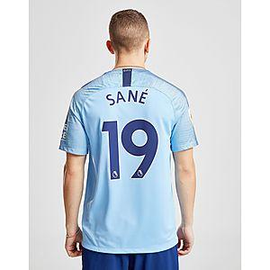 6ac7f5e52 Nike Manchester City FC 2018 19 Sane  19 Home Shirt ...