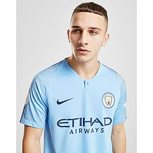 6496d58dbd1 ... Nike Manchester City FC 2018 19 Sane  19 Home Shirt