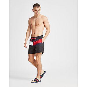 c364719f985b Tommy Hilfiger Large Flag Swim Shorts ...