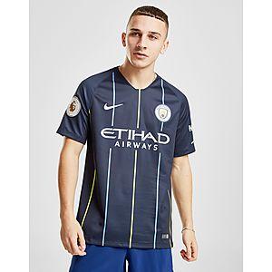 ... Nike Manchester City FC 2018 19 Silva  21 Away Shirt 785a3f590