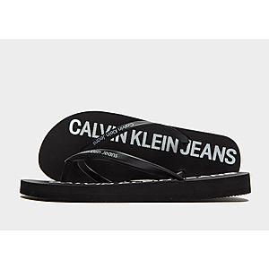 2bc8b316dcf45 Calvin Klein Jeans Dori Jelly Flip Flops Women s ...