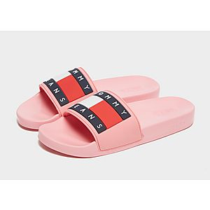 58ad7ea55 Tommy Jeans Flag Slides Women s Tommy Jeans Flag Slides Women s