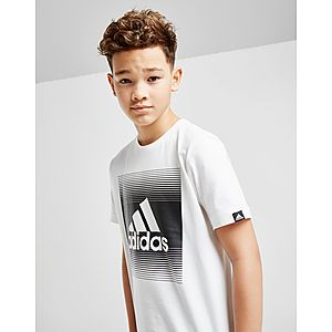 adidas Gradual Fade T-Shirt Junior ... 5d269b5d33f9
