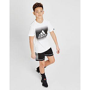 ... adidas Gradual Fade T-Shirt Junior f2b4a9f9e854