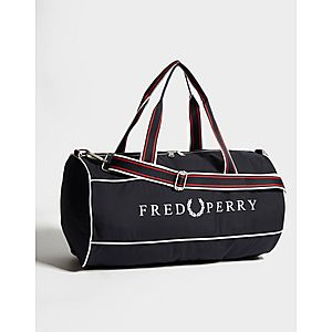 fe189b6677 Fred Perry Barrel Duffle Bag Fred Perry Barrel Duffle Bag