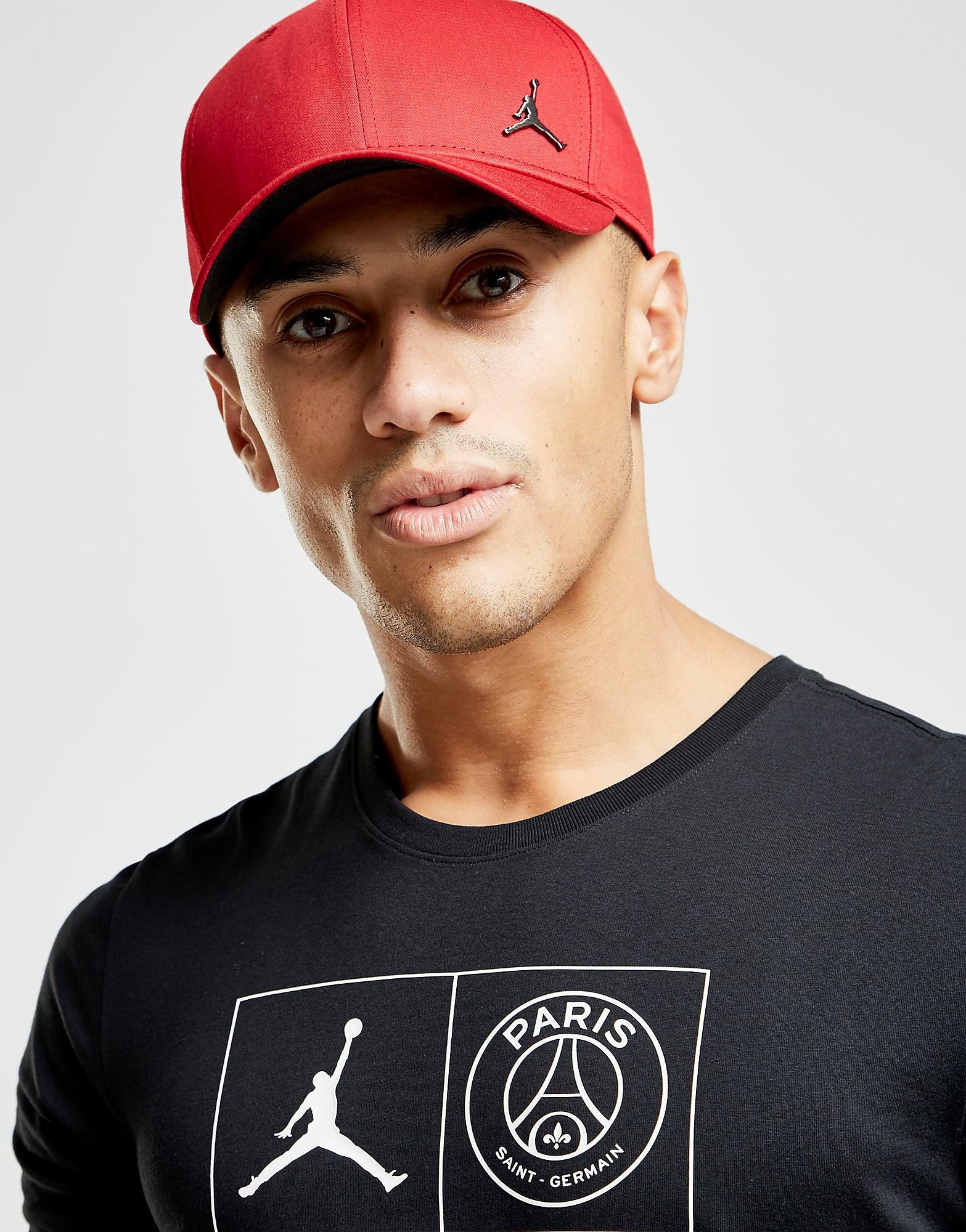Jordan Metallic Jumpman Cap - Rood - Heren