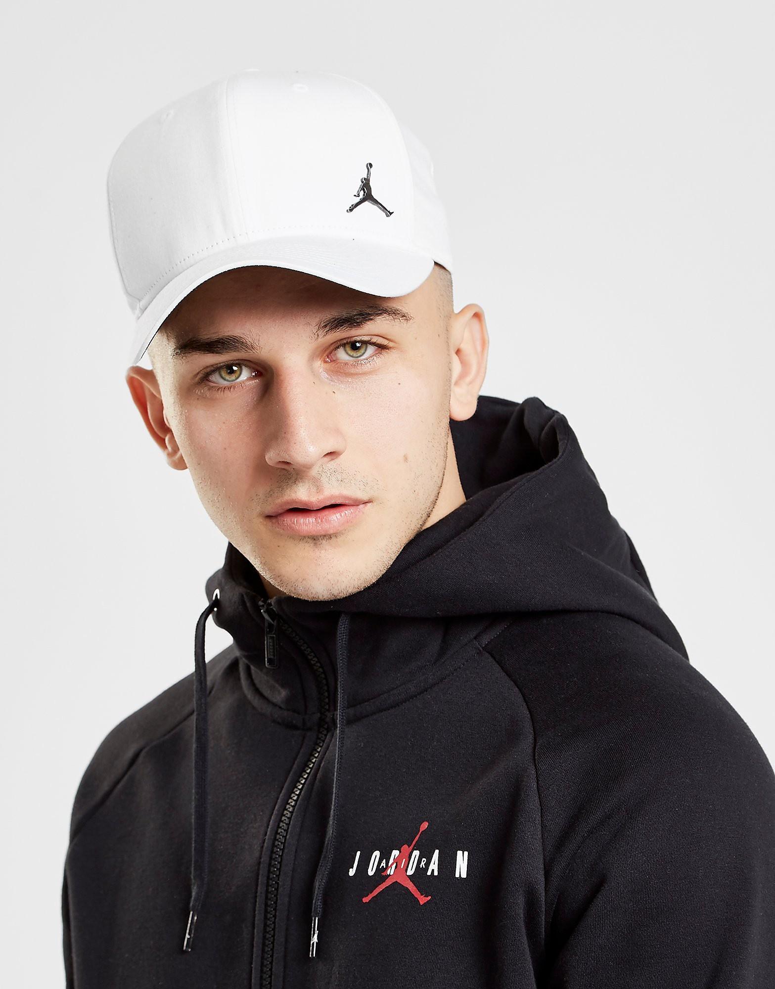 Jordan Metallic Jumpman Cap - Wit - Heren