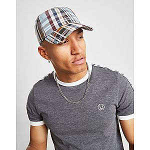 74d305c3378 Fred Perry Check Cap ...