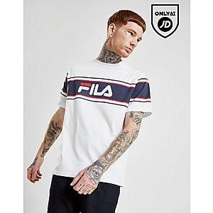 f432689d205 Fila Brock Stripe T-Shirt ...