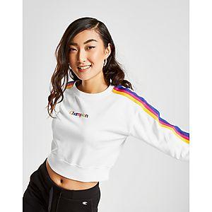 eaf22ba9c19b Champion Rainbow Stripe Crew Sweatshirt ...