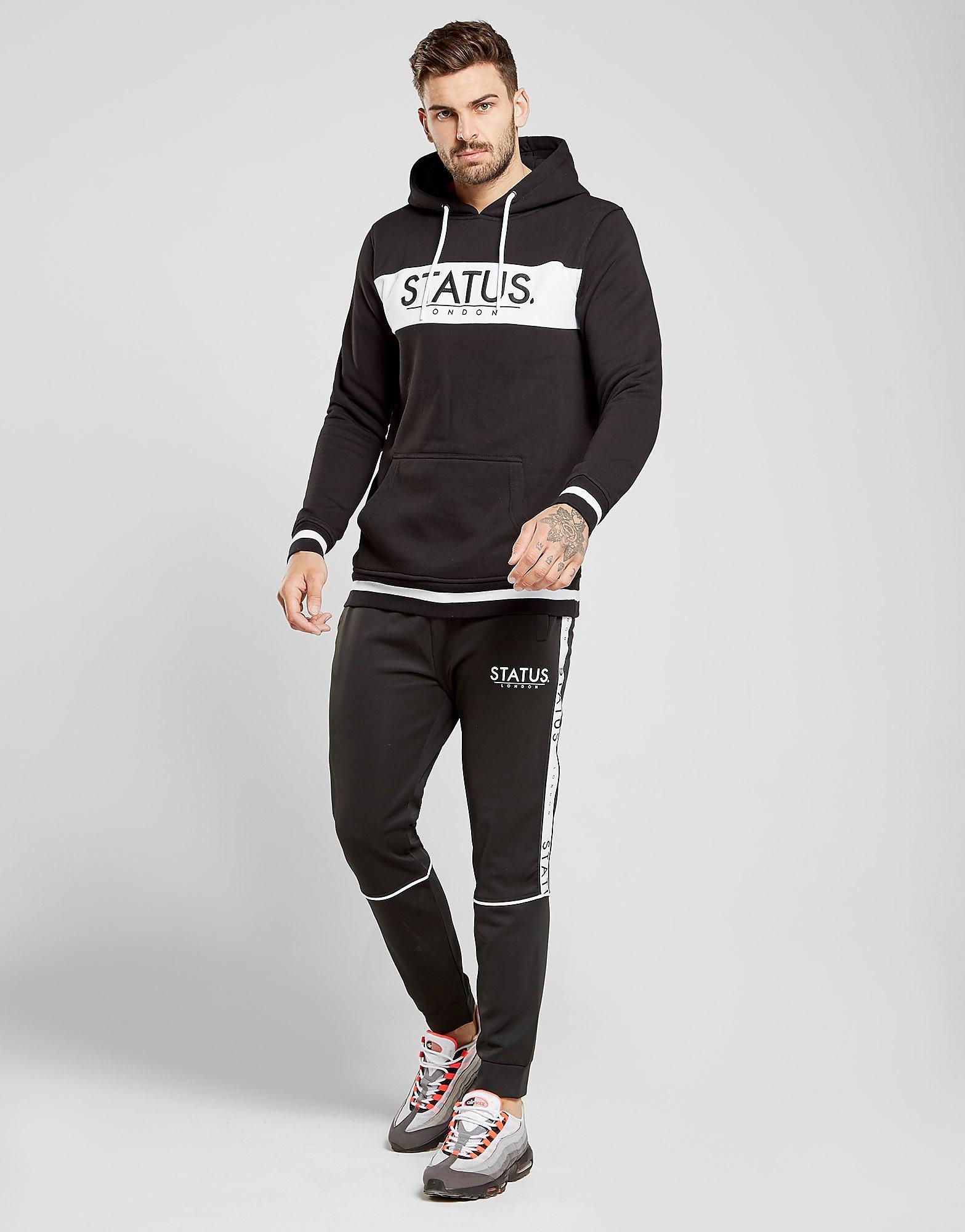 STATUS Dixon Track Pants - Zwart - Heren