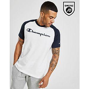 wholesale dealer 9f1f7 aa124 Champion Raglan Core T-Shirt ...