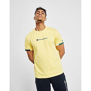 ... Champion Colour Block Sleeve T-Shirt 755fc1d70