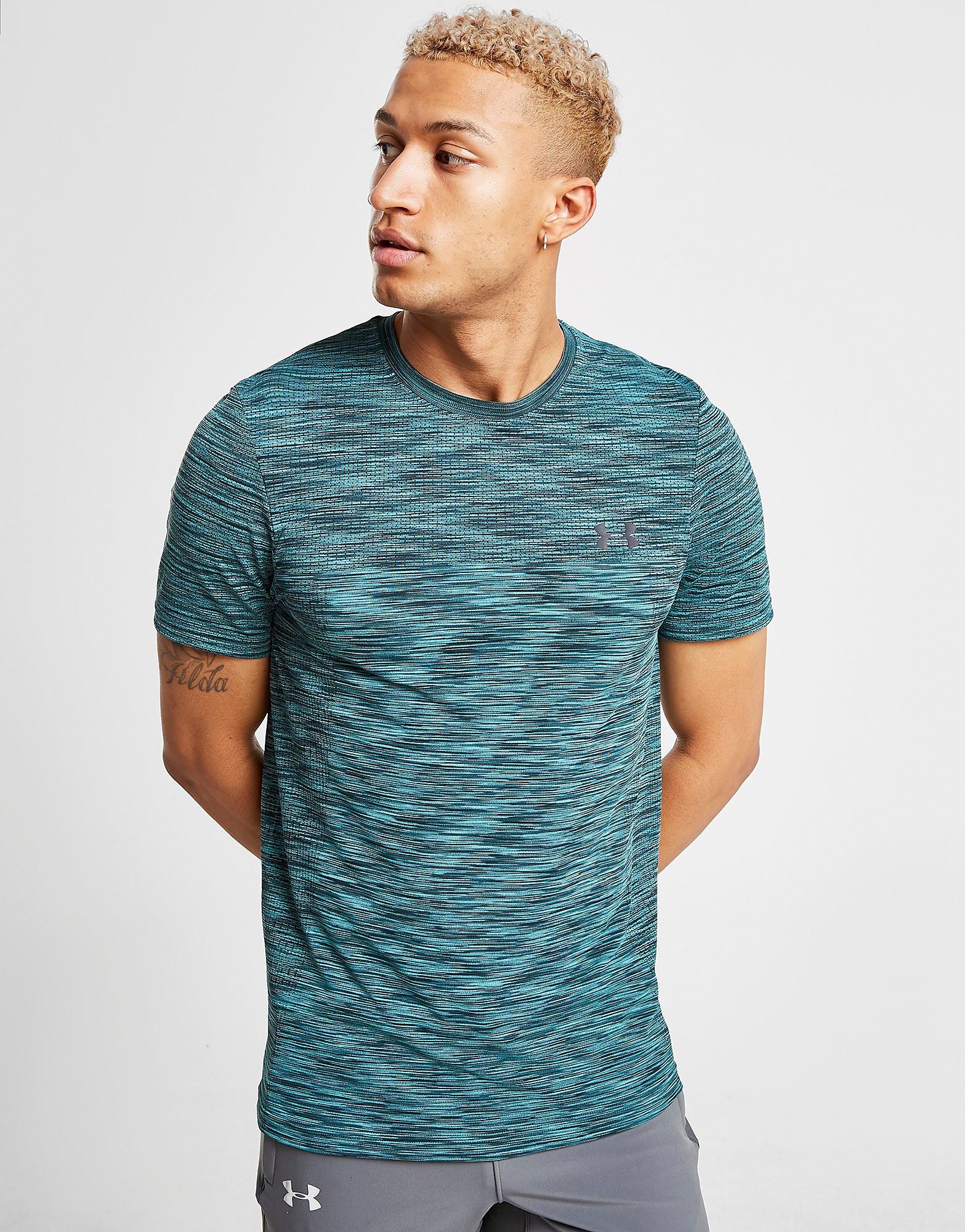 Under Armour Vanish Seamless Short Sleeve T-Shirt Heren - Groen - Heren