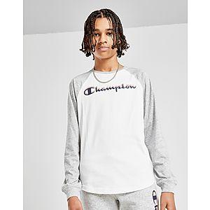 0bec4b8d3 Champion Long Sleeve Logo T-Shirt Junior ...