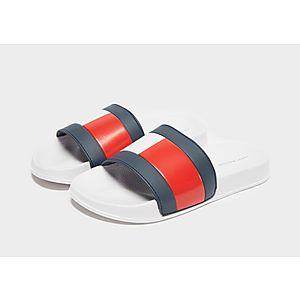 67cd9d065985c5 Tommy Hilfiger Flag Slides Junior Tommy Hilfiger Flag Slides Junior