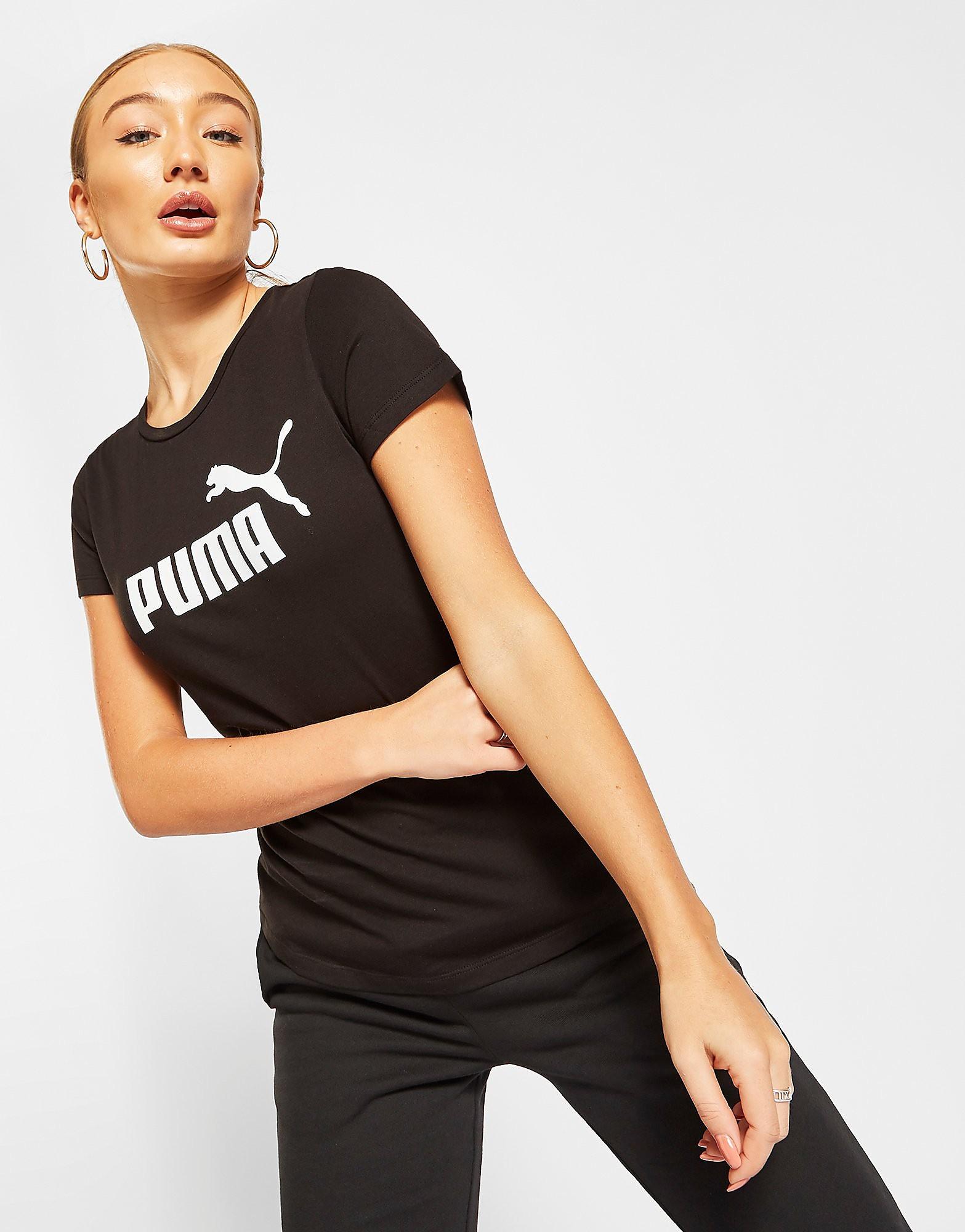 PUMA Core T-Shirt - Zwart - Dames