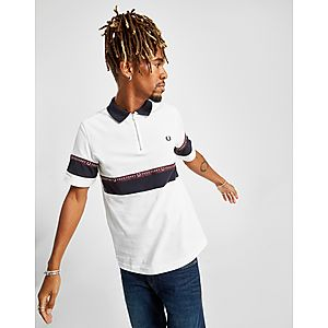 984c380ee93c Fred Perry Colour Block Tape Polo Shirt ...