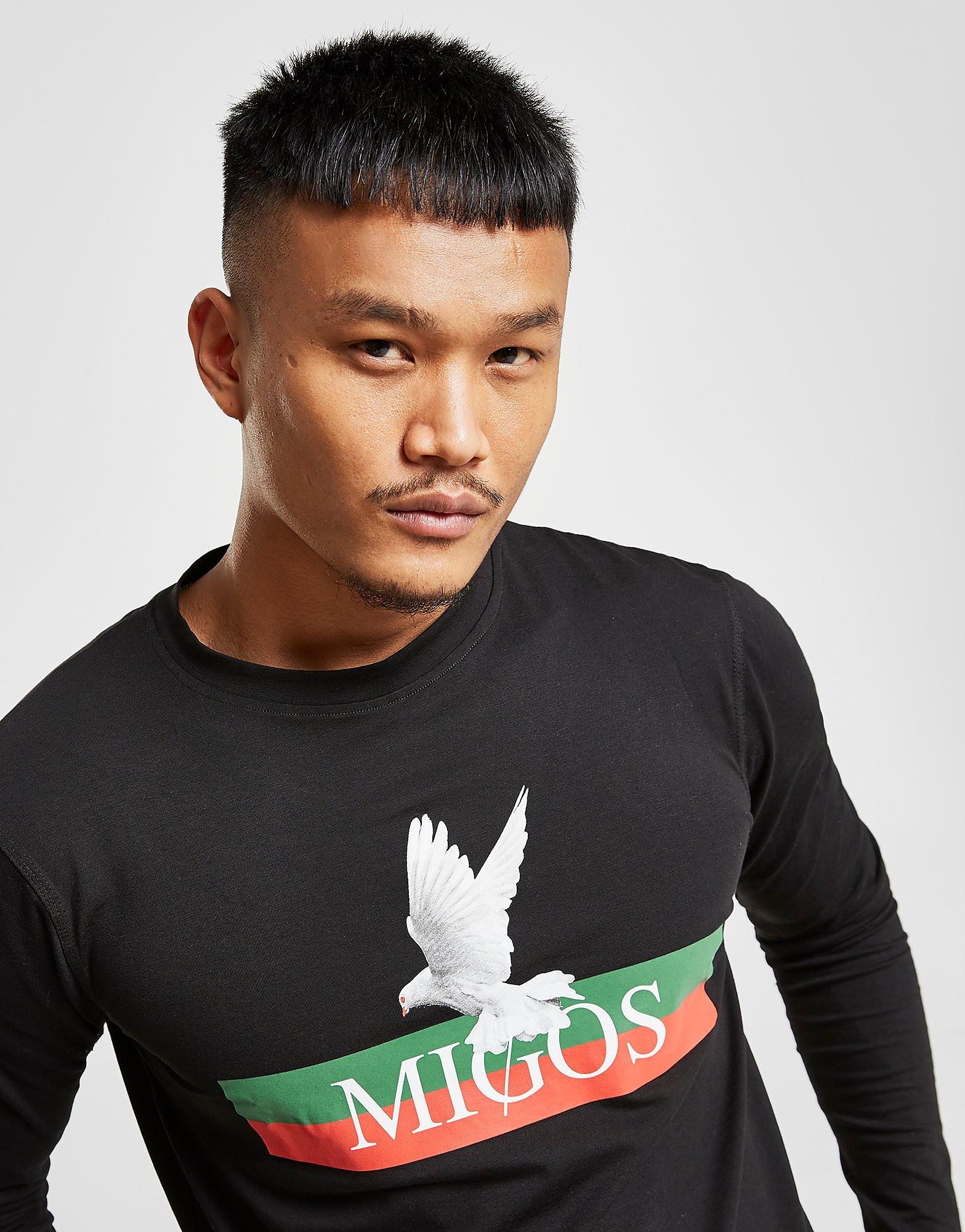 Supply & Demand Migos Long Sleeve T-Shirt - Zwart - Heren