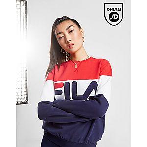 dd524fe2460 Fila Panel Logo Crew Sweatshirt Fila Panel Logo Crew Sweatshirt
