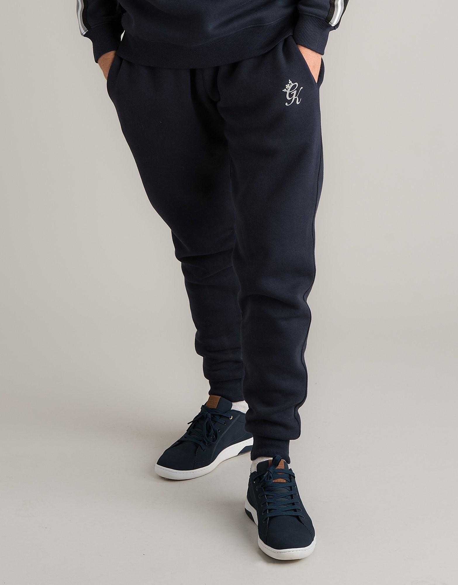 Gym King Small Logo Track Pants Heren - alleen bij JD - Blauw - Heren