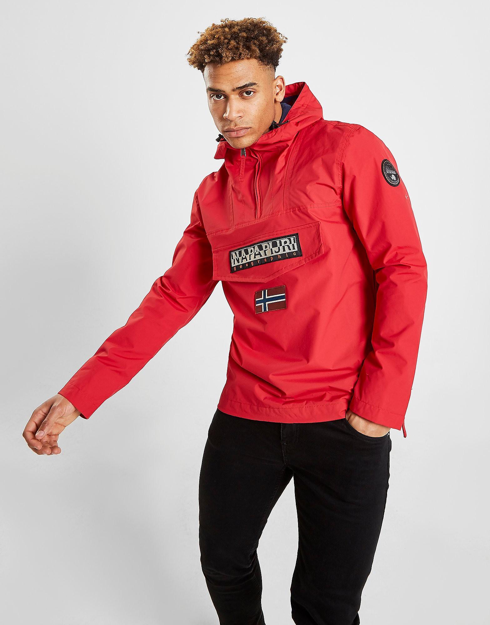 Napapijri Rainforest Lightweight Jacket Heren - Rood - Heren