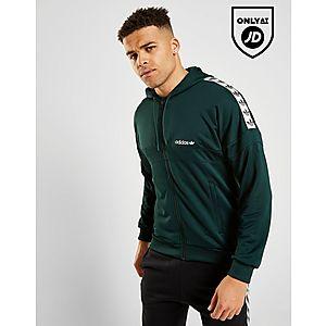 adidas Originals Tape Full Zip Hoodie ... d7fcb55879f5