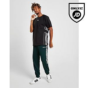 577006adfaa8 adidas Originals Tape Poly Track Pants ...