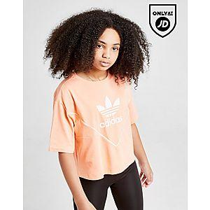 d0e1b44fabd307 adidas Originals Girls  Colorado Crop T-Shirt Junior ...