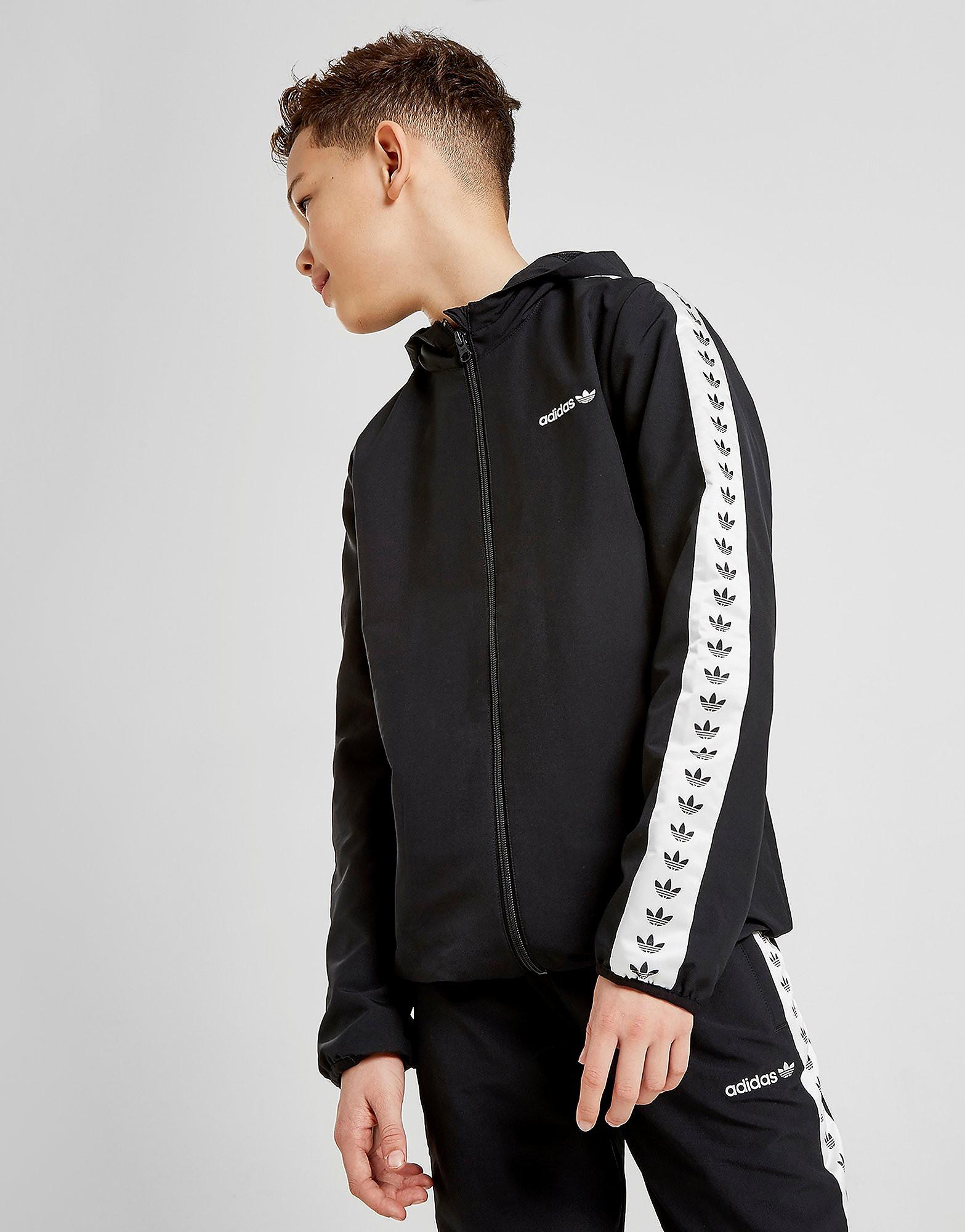 adidas Originals Tape Jacket Junior - alleen bij JD - Zwart - Kind