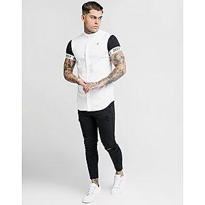 d7e8a5aa7 SikSilk Short Sleeve Tape Shirt SikSilk Short Sleeve Tape Shirt
