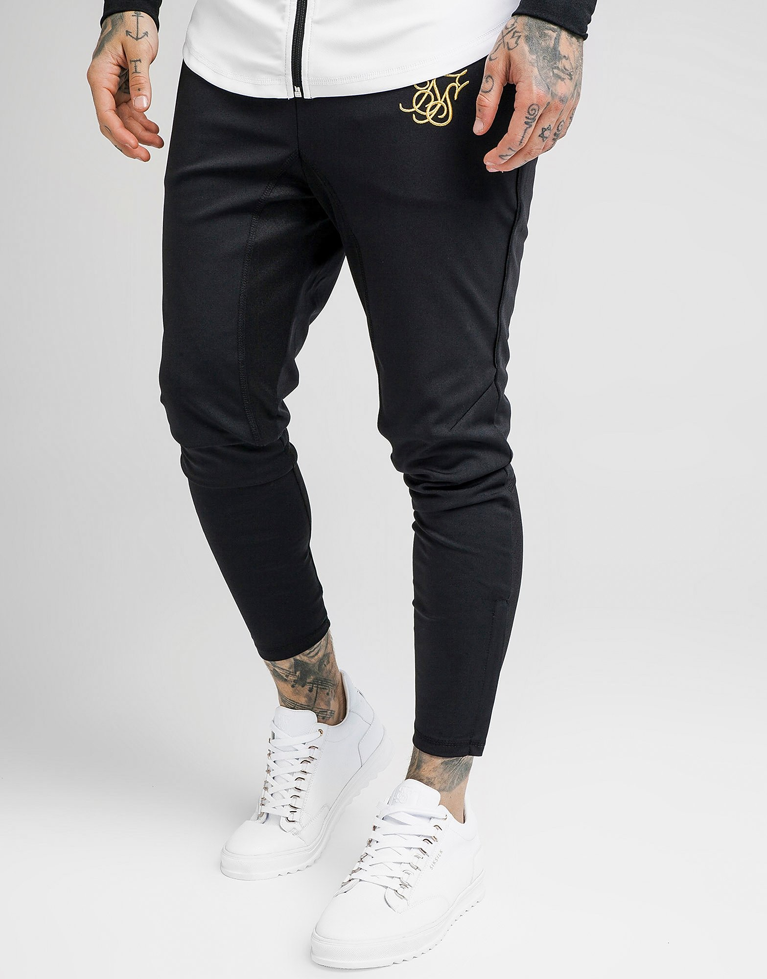 SikSilk Zonal Poly Trainingsbroek Heren - Zwart - Heren