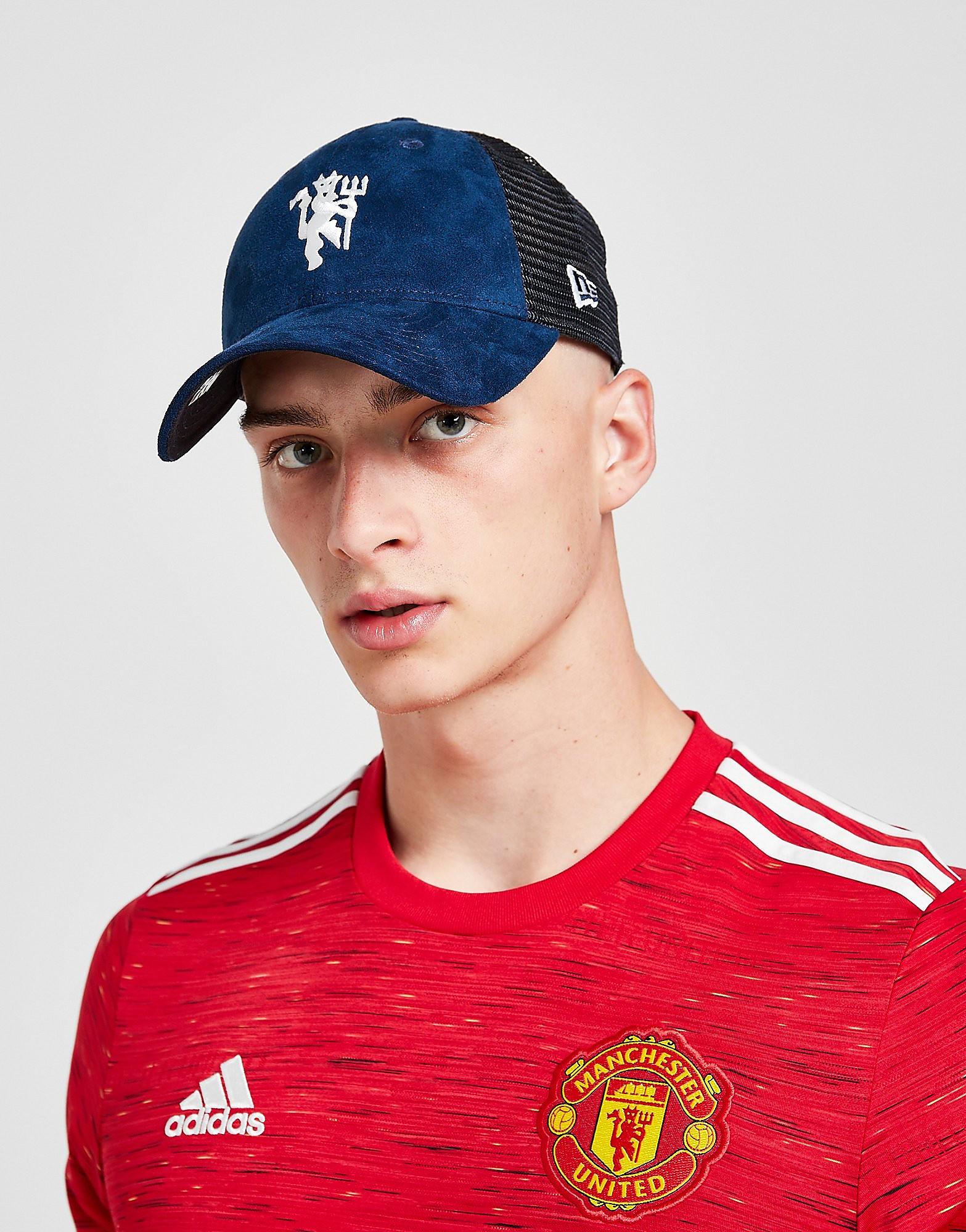 New Era Manchester United FC 9FORTY Mesh Cap - Blauw - Heren
