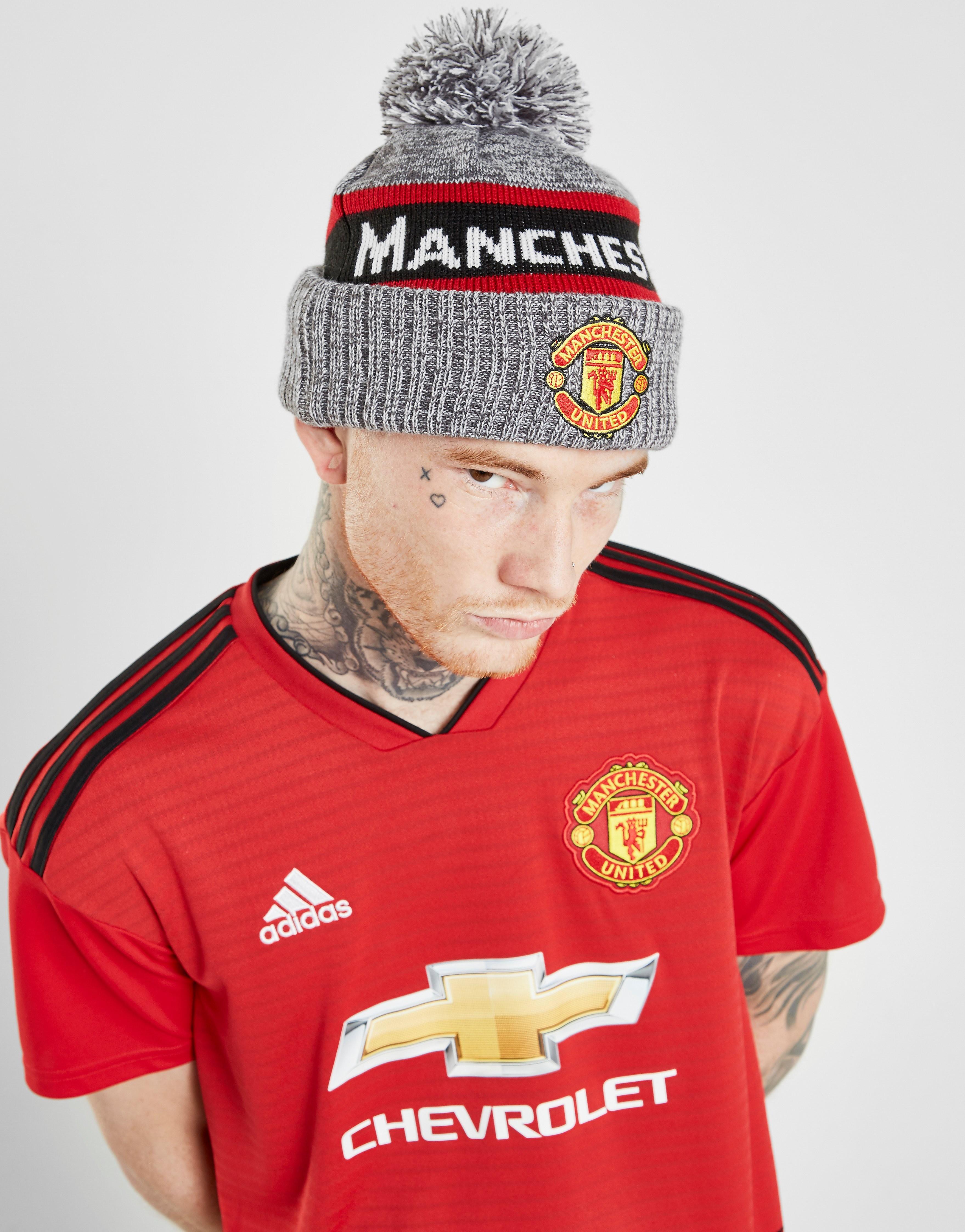 New Era Manchester United FC Jake Bobble Hat - Grijs - Heren