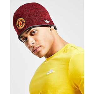 New Era Manchester United FC Red Devils Reversible Beanie ... 207d174f1eb0