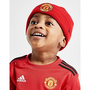 7b74554ba6942 New Era Manchester United FC Basic Cuff Beanie Hat Infant ...