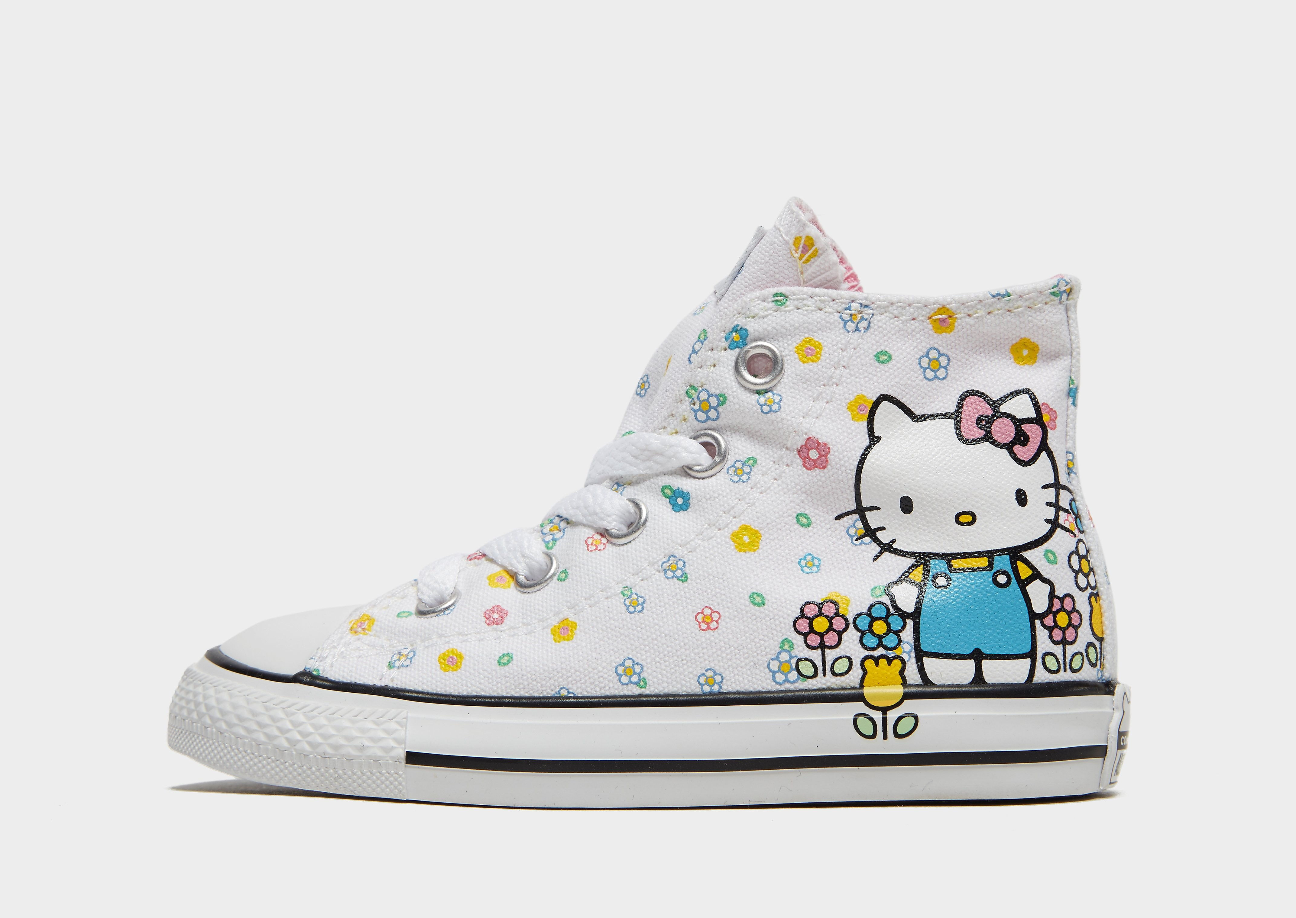 Converse x Hello Kitty All Star Hi Baby's - Wit - Kind