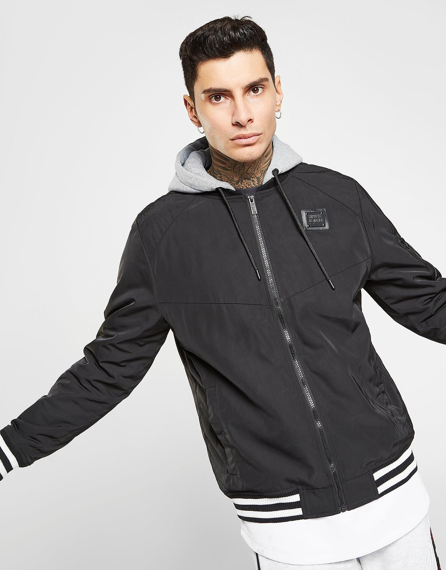 Supply & Demand Ember Jacket Heren - Zwart - Heren