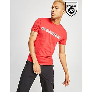 df23b6ff87d ... Napapijri Linear Box Short Sleeve T-Shirt