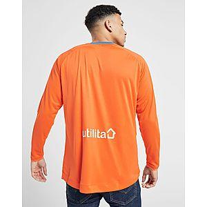 e5c03155bb4 ... Hummel Rangers FC 2018 19 Long Sleeve Home Shirt