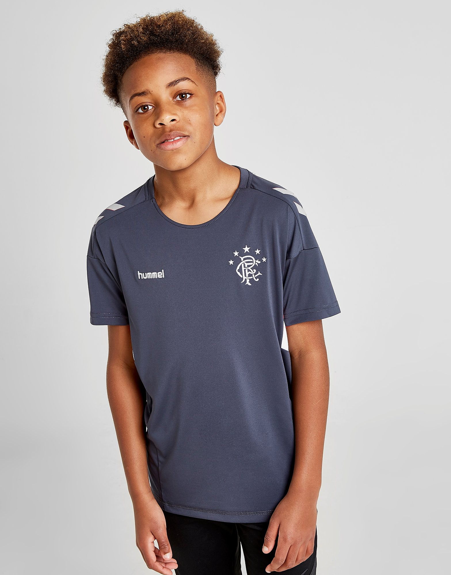 Hummel Rangers FC Match Shirt Junior PRE ORDER - Zwart - Kind