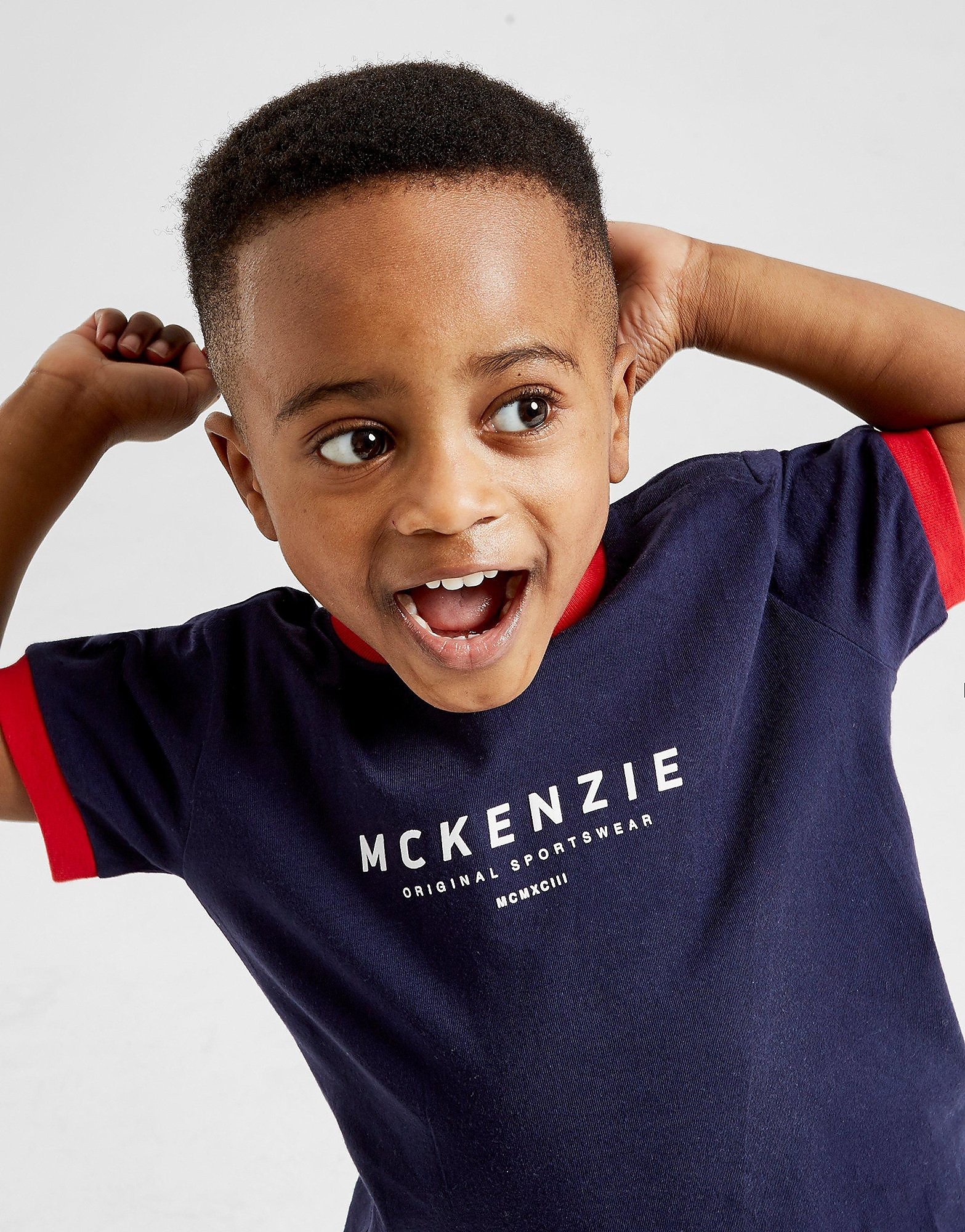 McKenzie Bear T-Shirt Infant  - Blauw - Kind