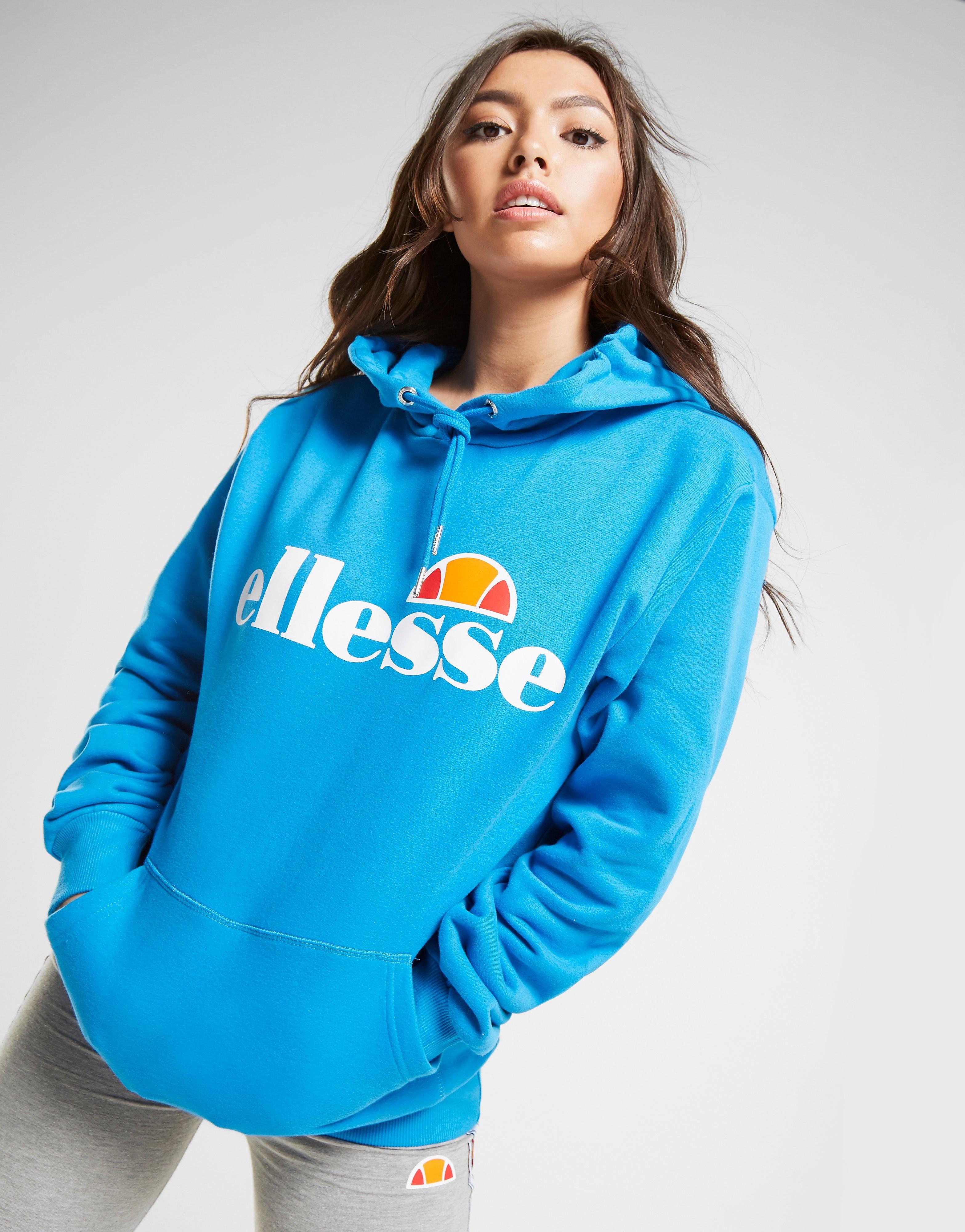 Ellesse Core Boyfriend Logo Hoodie Dames - Blauw - Dames