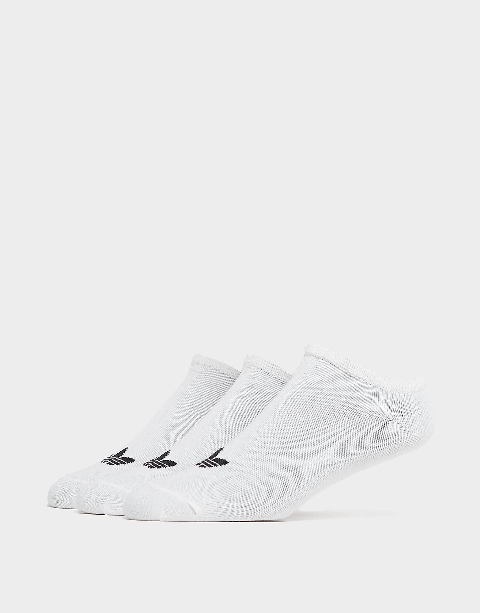 adidas Originals Driedelige set sneakersokken - Wit - Heren