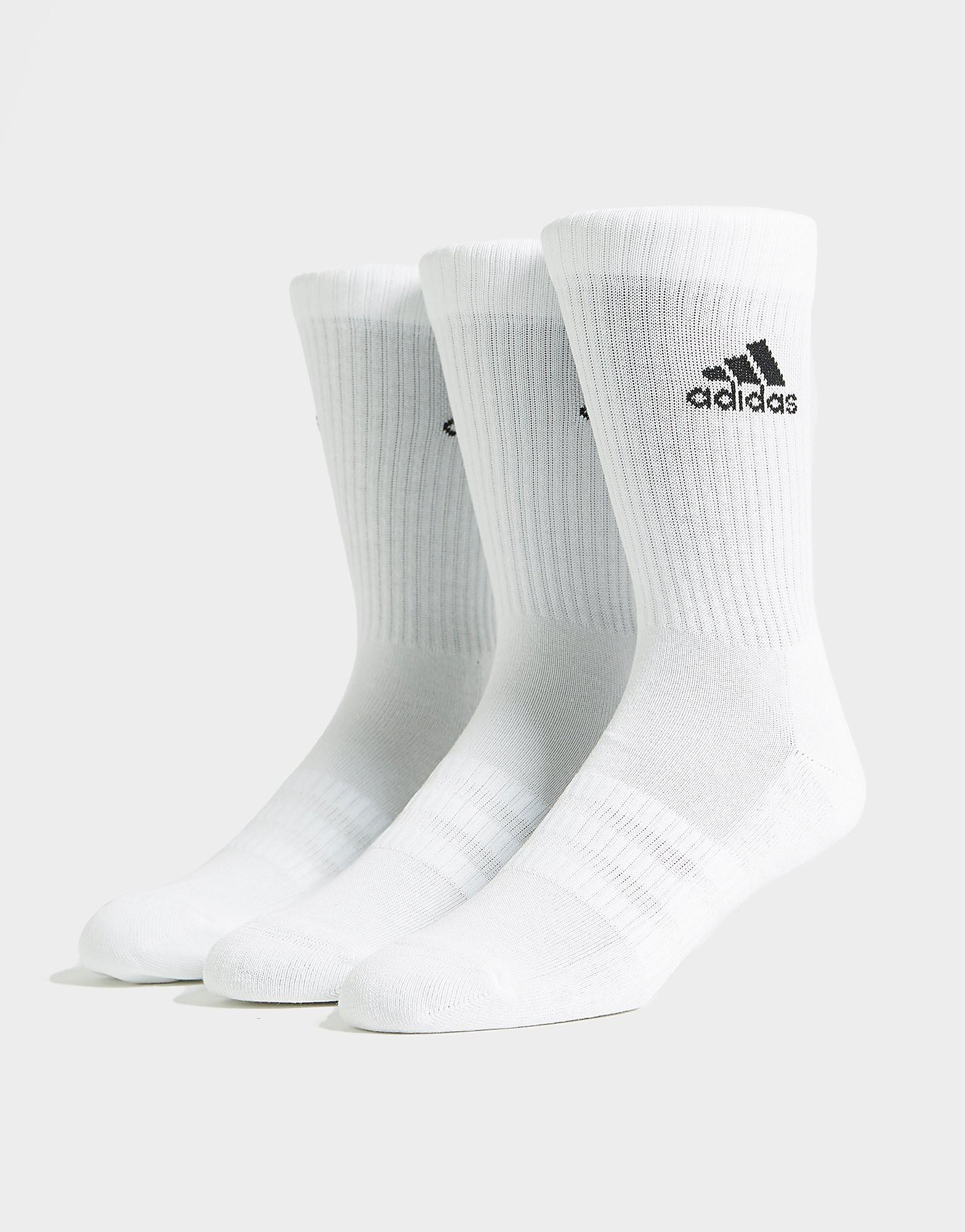 adidas 3-pack Crew-strumpor
