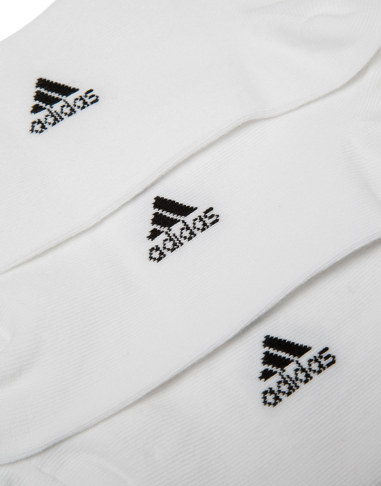 adidas Kids 3 Pack Invisible Sports Socks
