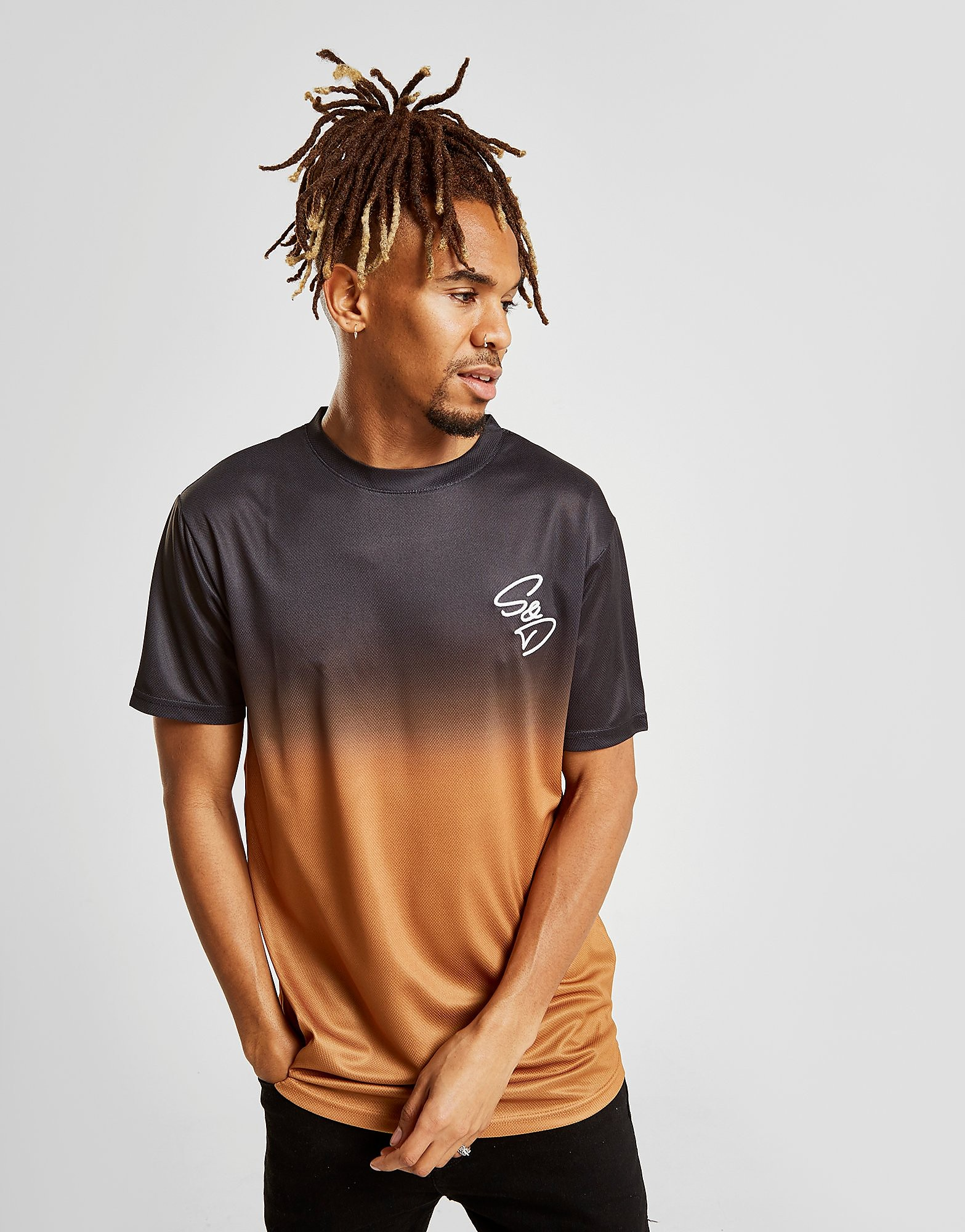 Supply & Demand Source T-Shirt Heren - Zwart - Heren
