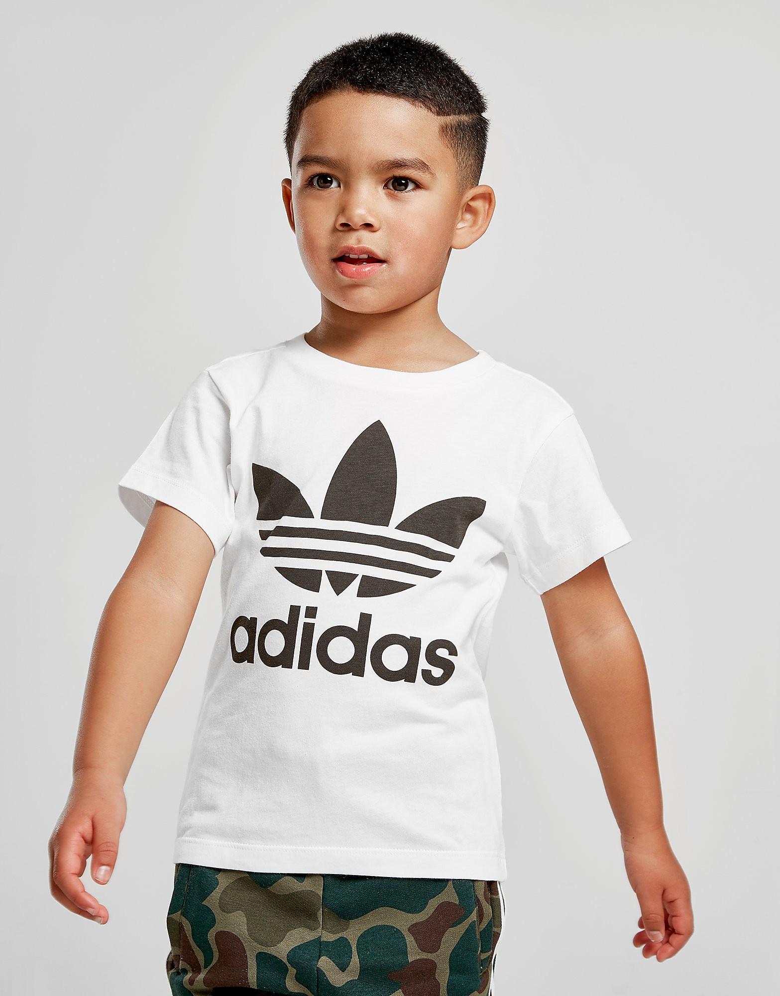 adidas Originals Trefoil T-Shirt Children - Wit - Kind