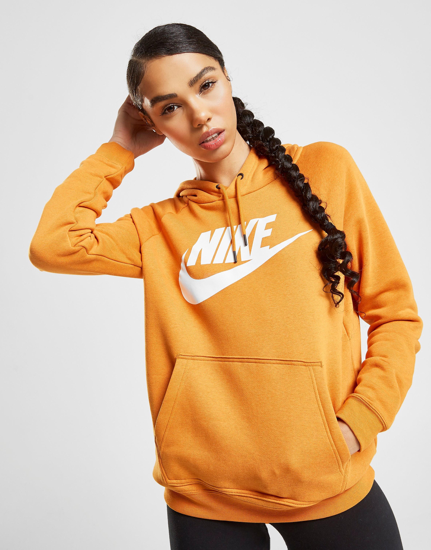Nike Rally Overhead Hoodie Dames - Geel - Dames